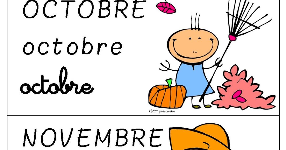 Souvent La maternelle de Laurène: Les mois de l'année QQ16