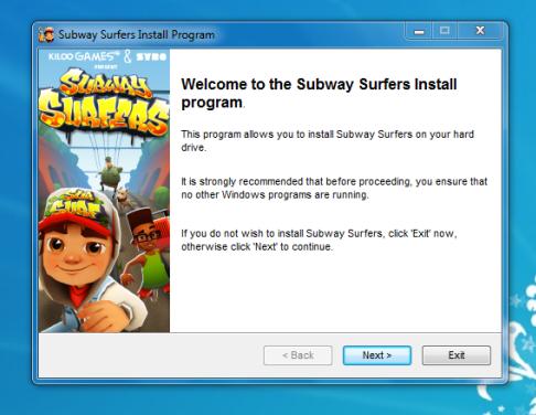 Subway Surfers لعبه سابوي سيرف للكمبيوتر game ألعاب مجانية صغيرة خفيفة تحميل لعبة