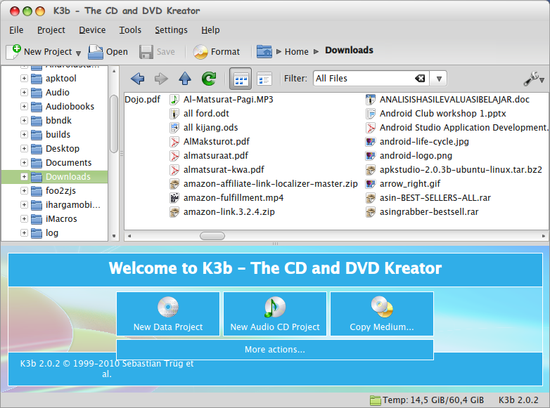 How to Install K3B Burner The Nero Alternative for Linux