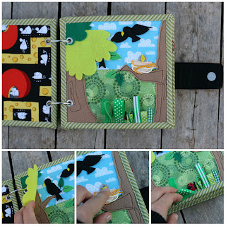 Nature quiet book page