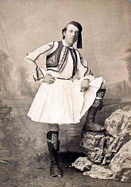 Oscar Wilde en toda su gloria desafiante y provocadora.