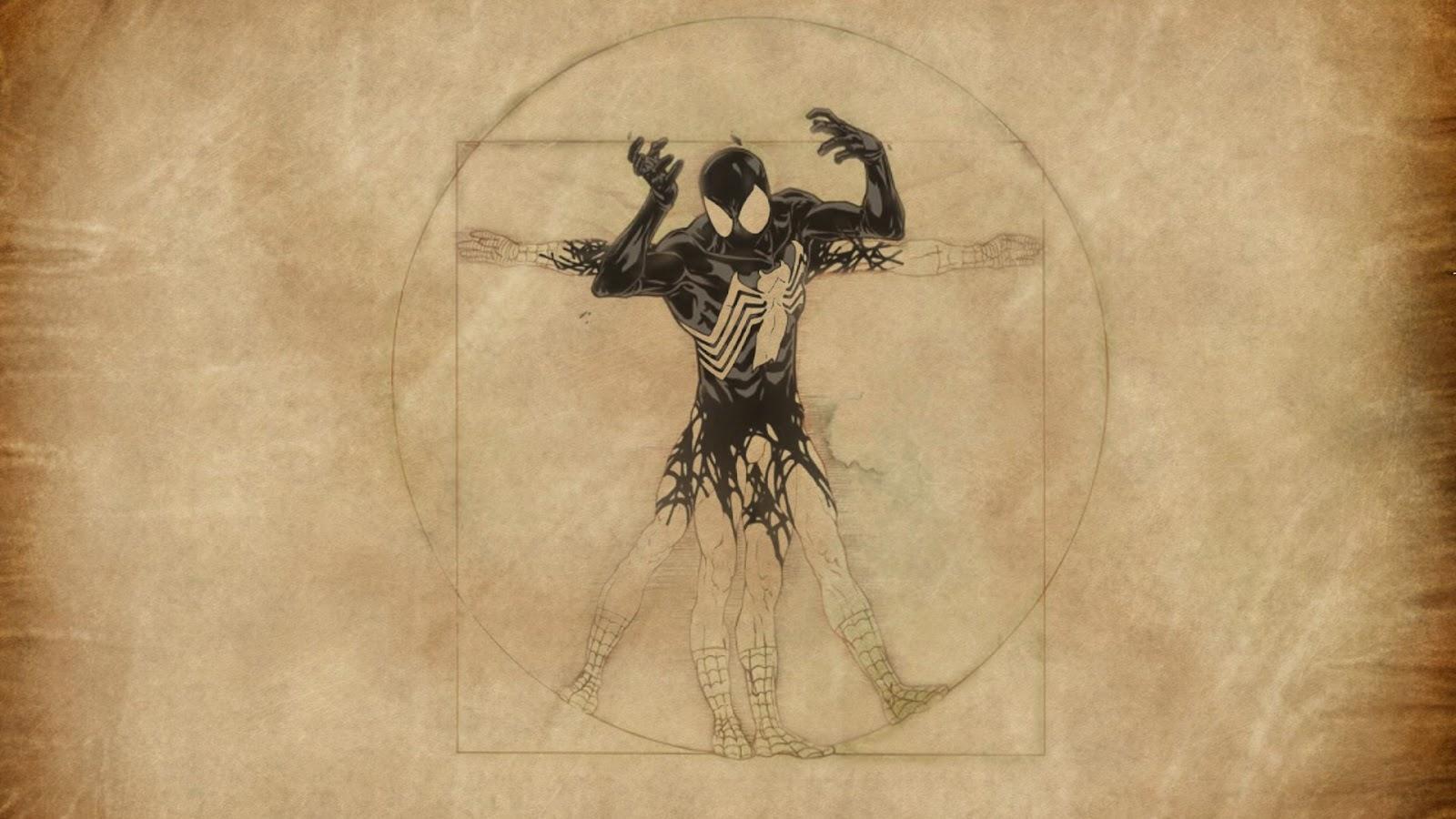 Cool Cool Comics: Vitruvian Spiderman