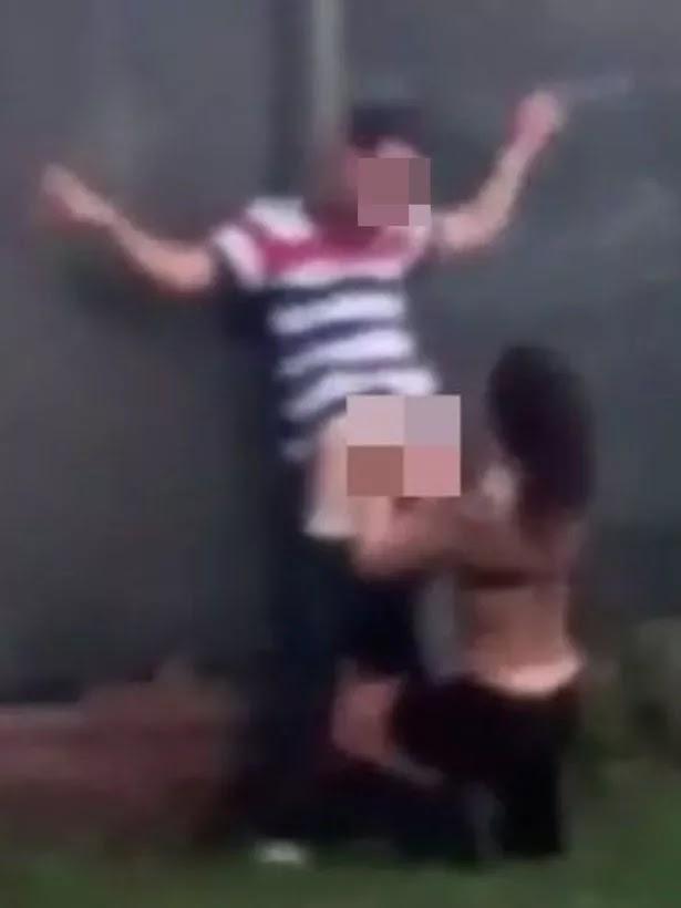 Couples Filmed Having Sex