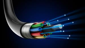 fibre optics fastest communication medium of networking