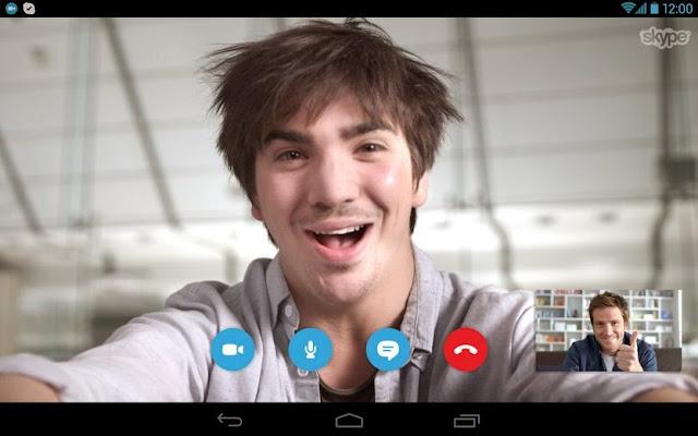 تطبيق سكايب للاندرويد skype for android