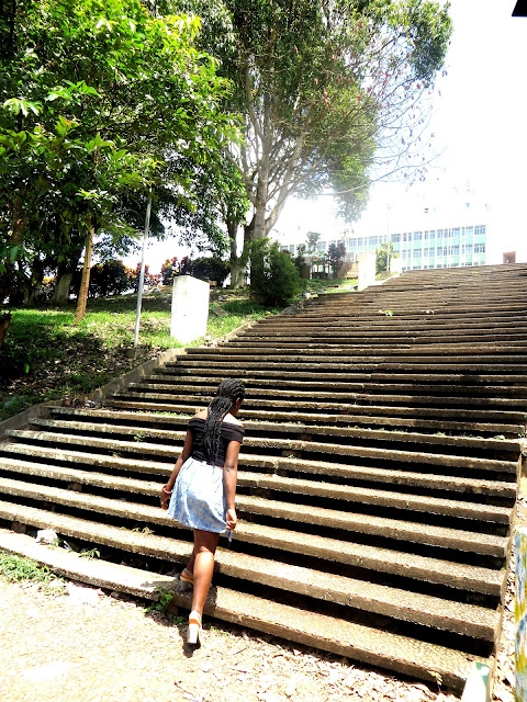 steps, stepping, stairs, staircase, style post, look, black blogger, african bloggers,