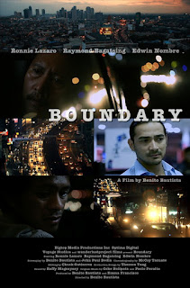 Inspired by true stories of taxicab drivers of metropolitan Manila, BOUNDARY.