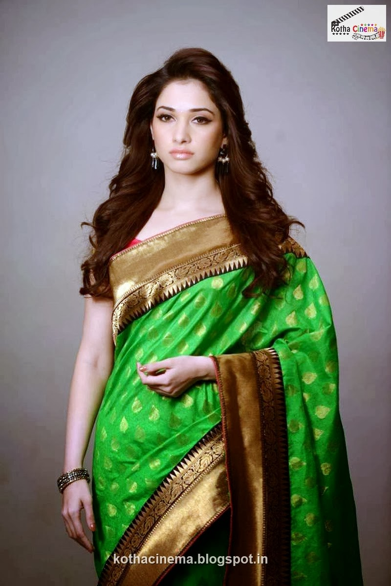 Tamanna Photo Gallery: Actress :: Tamanna Saree Photoshoot