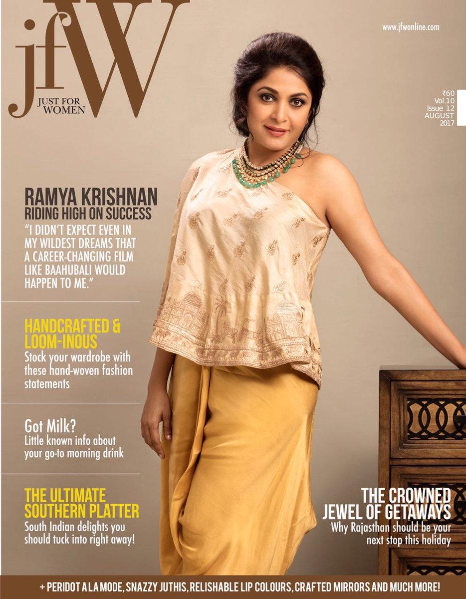 Ramya Krishnan Photoshoot For JFW Magazine