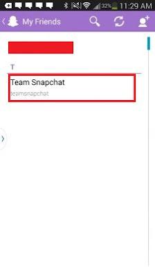cara menghapus teman di snapchat