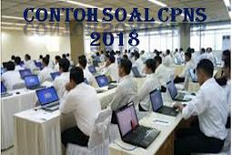 Kisi-Kisi Soal CPNS TKD, TKB, dan Try out CAT 2018 - 2019