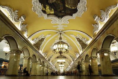metropolitana Mosca Komsomolskaya
