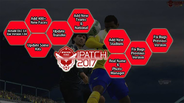 Update Patch PES 2017 dari iPatch V1.1