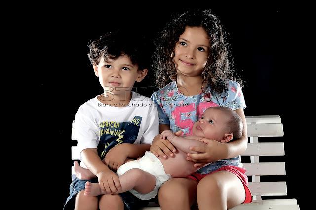 fotos de bebe com a familia