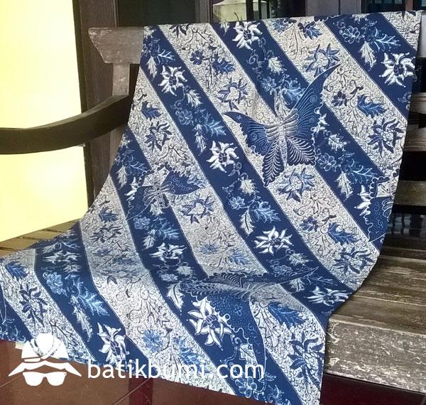 Kain Batik Lawasan Kupu Seling MB 039