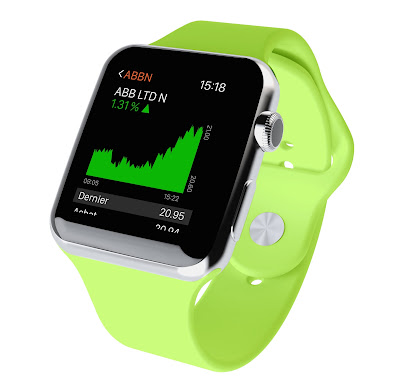 Swissquote, apple watch, quotes, котировки, умный часы, форекс