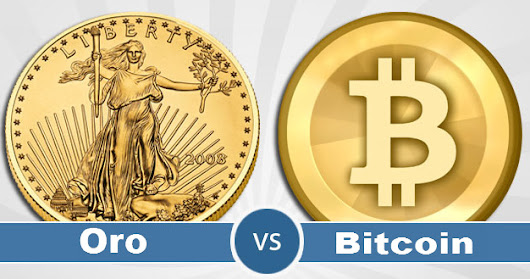 "¿Invertir en oro o en Bitcoin como valor refugio? Comparamos estos ""activos""."