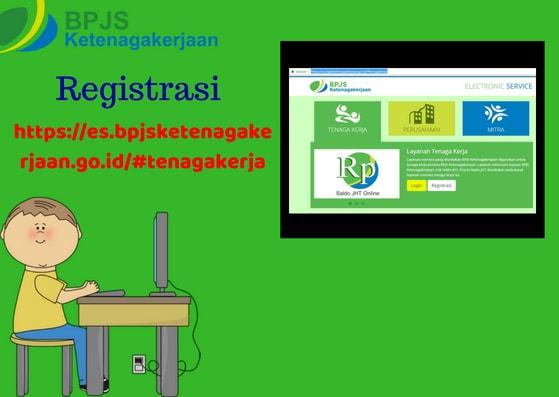 Gambar Ilustrasi 1 Cara buat Akun BPJS Ketenagakerjaan