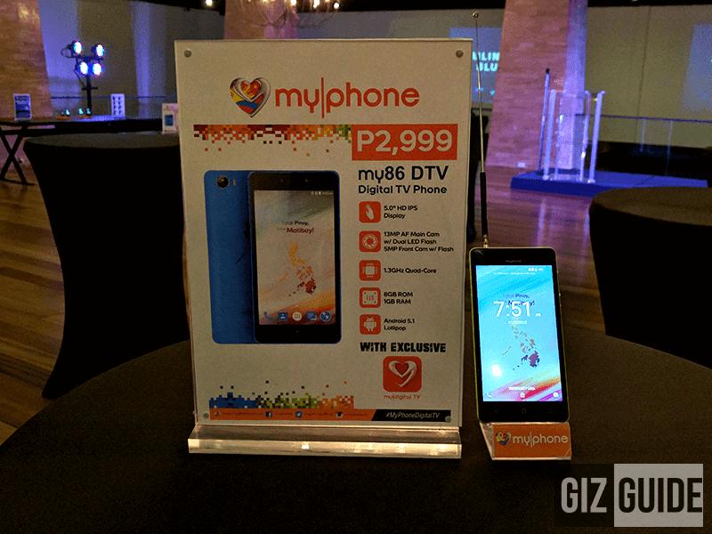 MyPhone My86 DTV