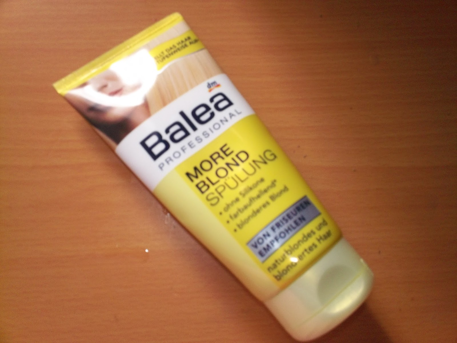 Makeupbeauty Blog Recensione Balsam De Par Balea More Blonde
