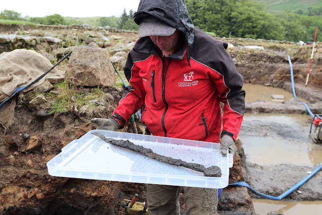 Cache of Roman cavalry weapons found at Vindolanda