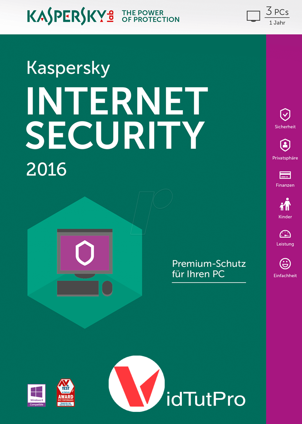Kaspersky Internet Security 2017 Full Licencia Infinita