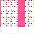 Sweet 16 Colored Dots for Girls: Free Printable Boxes.