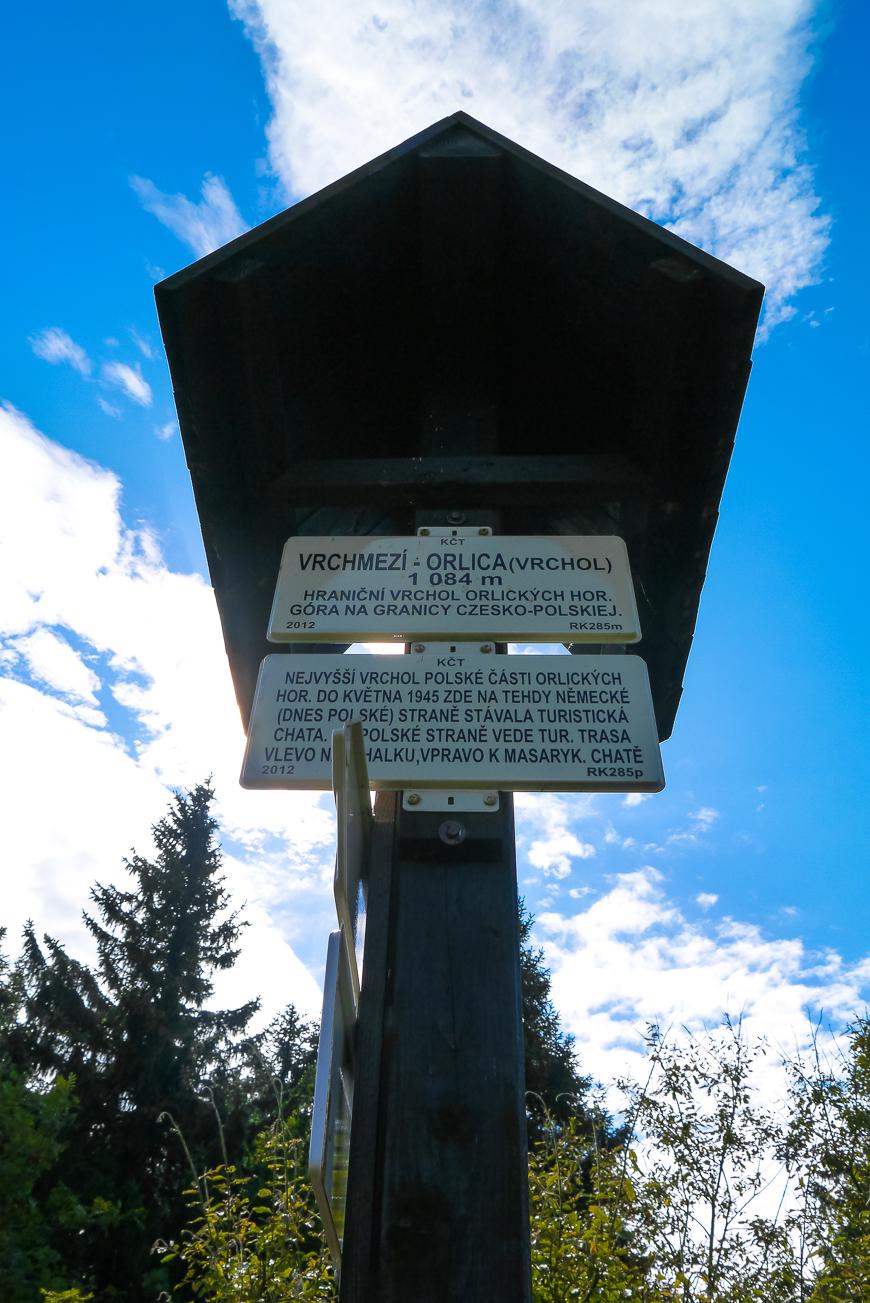 Korona Gór Polski Orlica