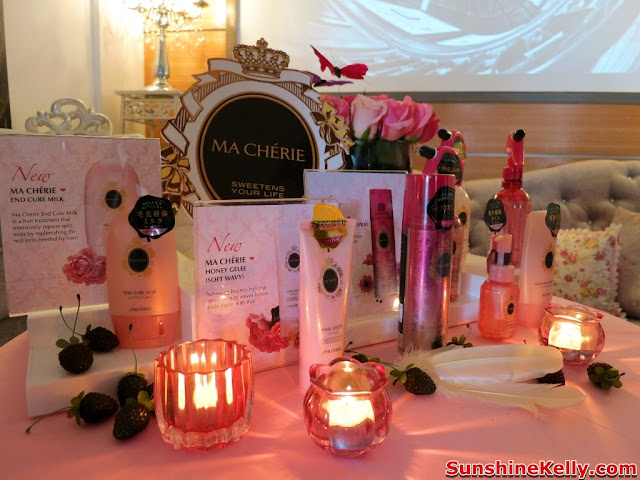Ma Cherie, latest Hair Care, Hair Styling, hair Treatment, shiseido japan, kawaii hair style, hair products