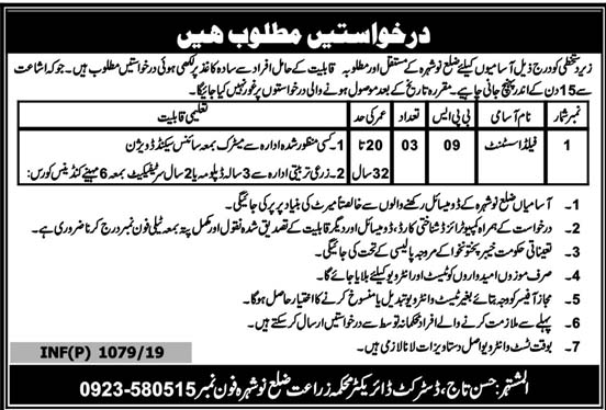 Field Assistant Jobs