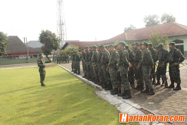 Tingkatkan Kedisiplinan Dan Loyalitas Prajurit, Kodim 0735/Surakarta Gelar Latihan PBB