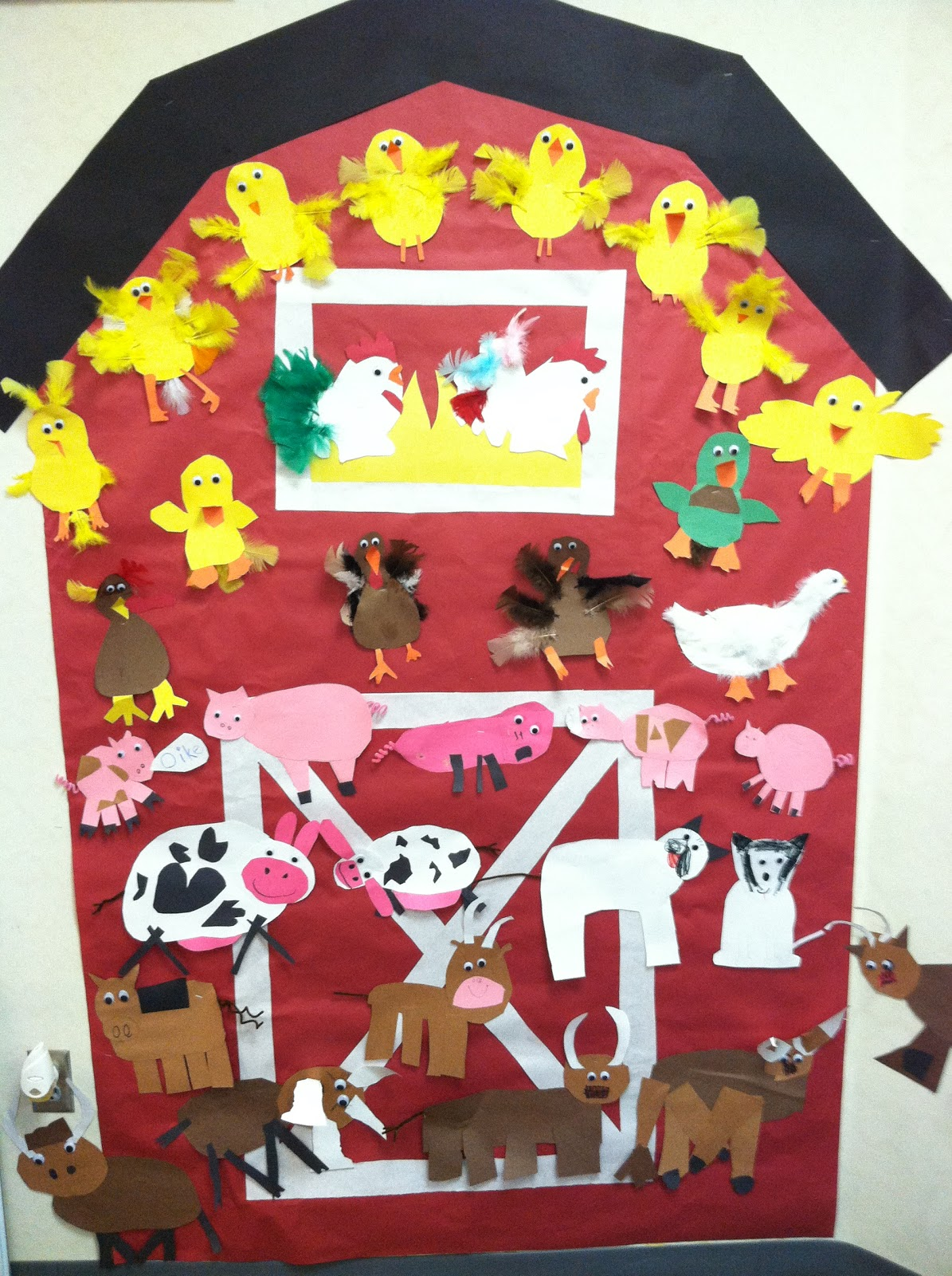 Kinder Garden: Mrs. Cates' Kindergarten: Farm