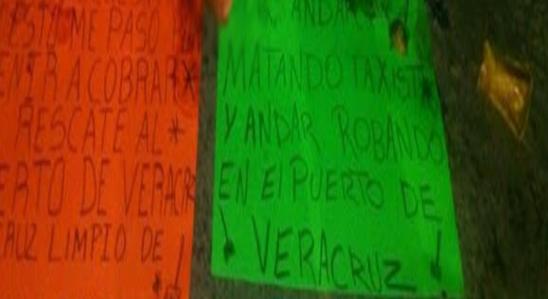 Localizan cadáveres descuartizados y decapitados con narcomensaje en Veracruz