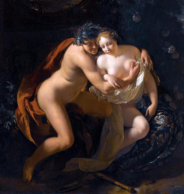 Adriaen van der Werff - Paride e Enone - sex paintings