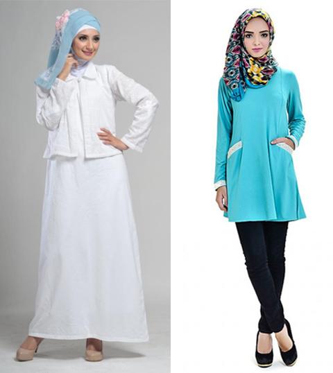 model baju muslim zoya
