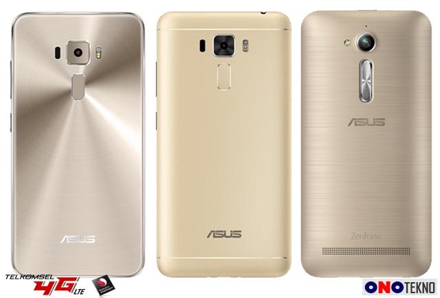 ZenFone 3 ZE552KL, ZenFone 3 Laser ZC551KL dan Zenfone Go ZB500KL