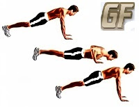 melatih otot bahu push up