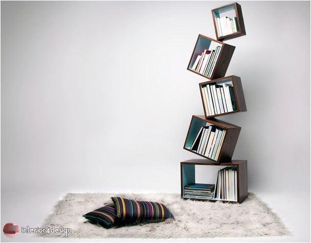 70 Best Bookshelf Designs 7