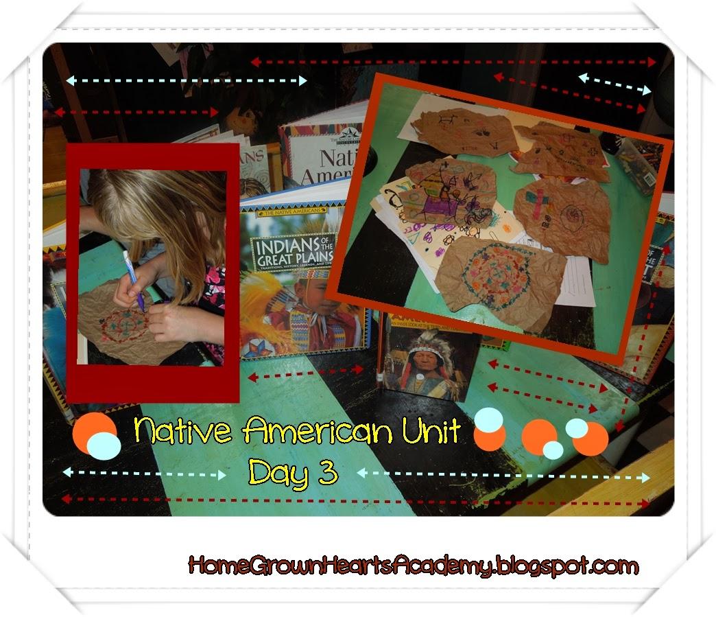 Home Grown Hearts Academy Homeschool Blog Native American
