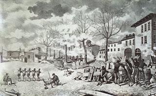 Lyon, 22 novembre 1831, Bataille de la Place des Bernardines.