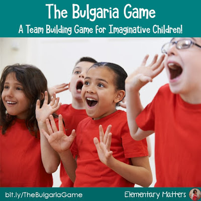 The Bulgaria Game: This game is a great filler that will get the kiddos thinking of communication without words. Plus, you can connect it to the curriculum, too!