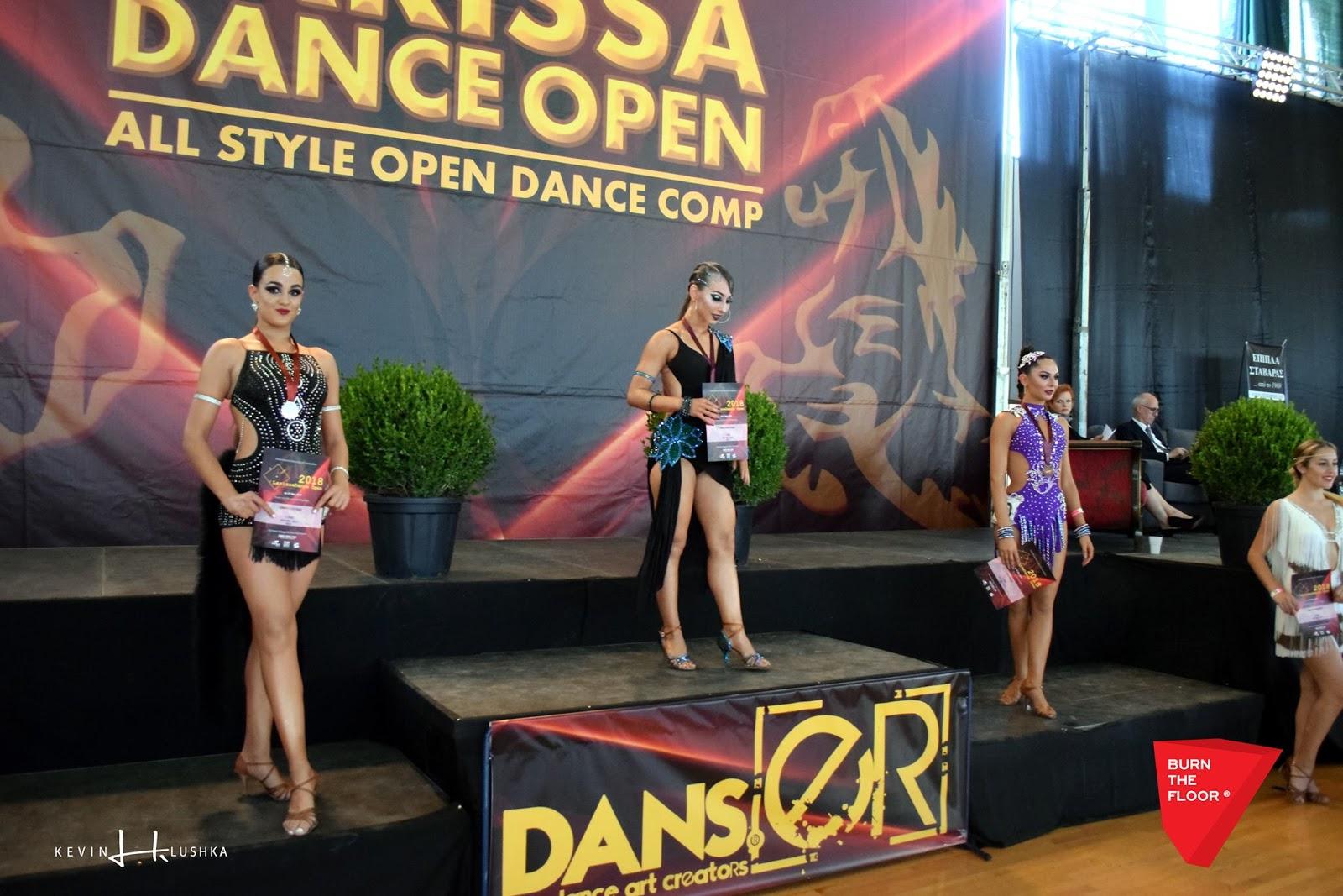 """Αμέτρητα τα μετάλλια των αθλητών της Σχολής Χορού """"Burn the Floor"""" στον Διεθνή Διαγωνισμό Χορού «LARISSA DANCE OPEN 2018» (ΦΩΤΟ)"""