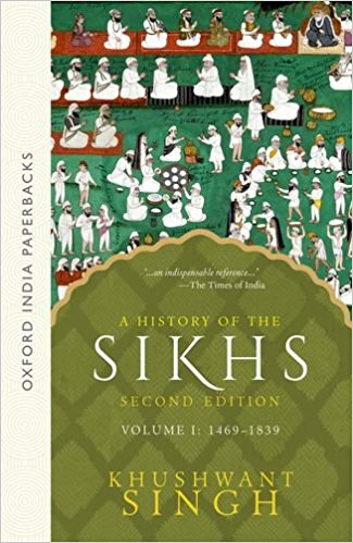 The History of Sikhs  First Novel by Khushwant Singh