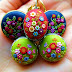 Needle Crafted Polymer Clay Jewelry by StoriesMadeByHands