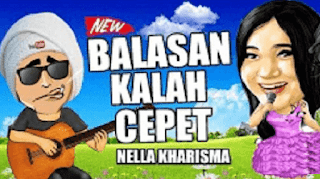 Lirik Lagu Balasan Kalah Cepet - Nella Kharisma