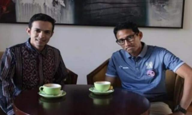 Gamal Albinsaid Dimata Sandiaga Uno: Lokomotif Pembaharuan Milenial