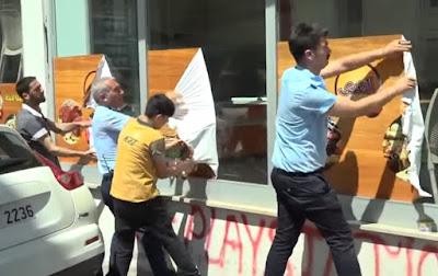 تركيا تشرع في محاربة الحرف العربي