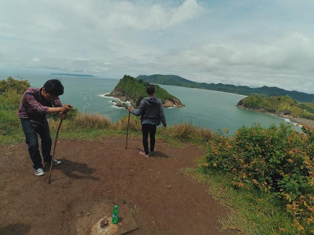 Spot Foto di Bukit Domba Pantai Payangan