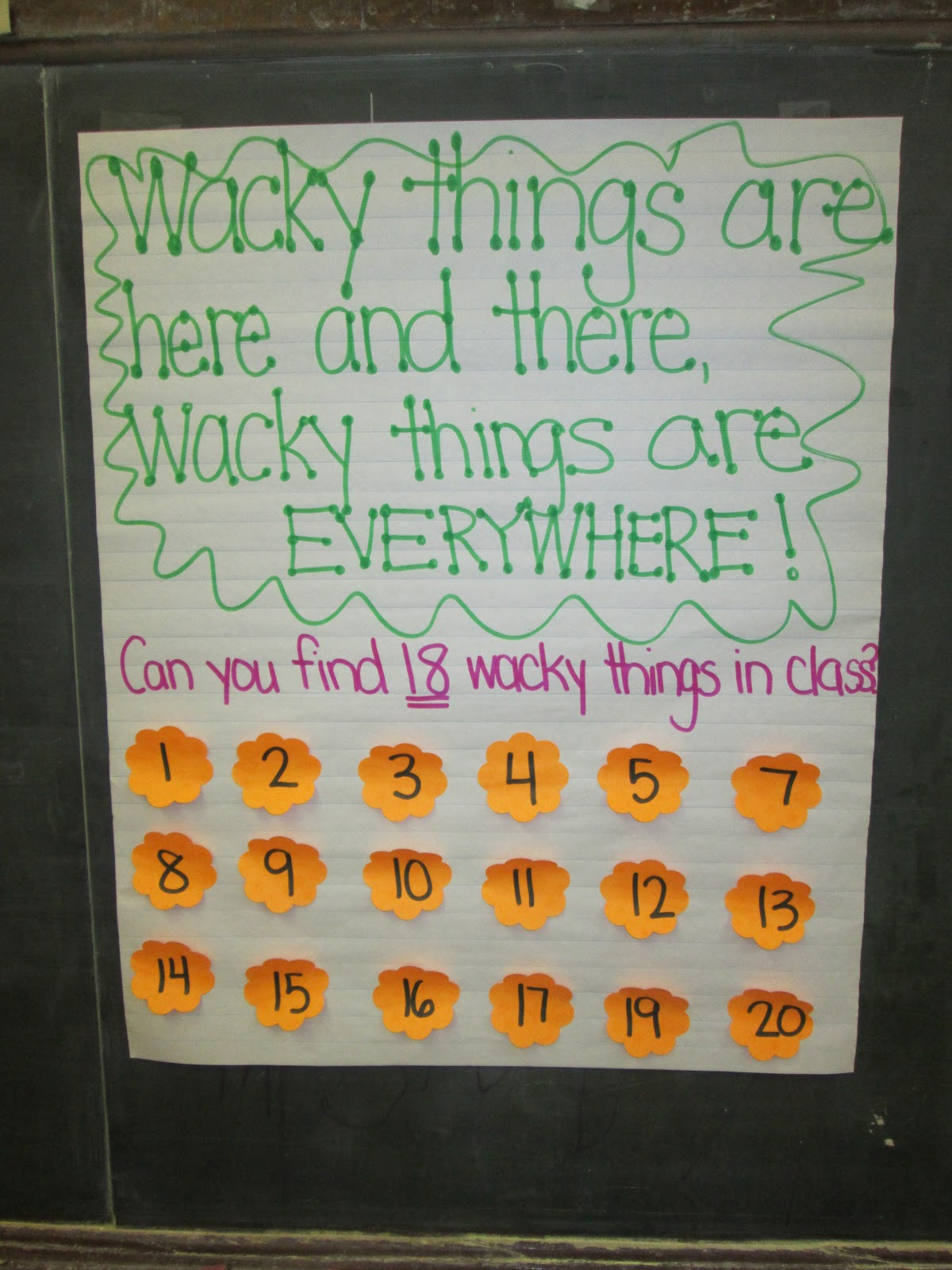 Fun In First At Olp Wacky Wednesday