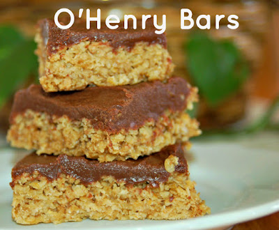 Delicious Chocolate Covered Oatmeal Bars!